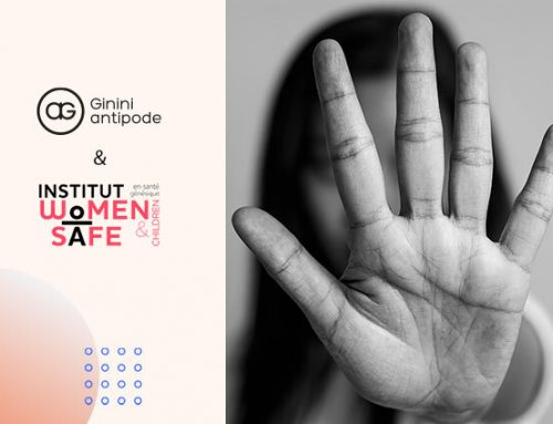 Ginini antipode soutient l'Institut Woman Safe